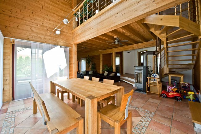 holzhaus kraichgauer fichte fullwood wohnblockhaus. Black Bedroom Furniture Sets. Home Design Ideas