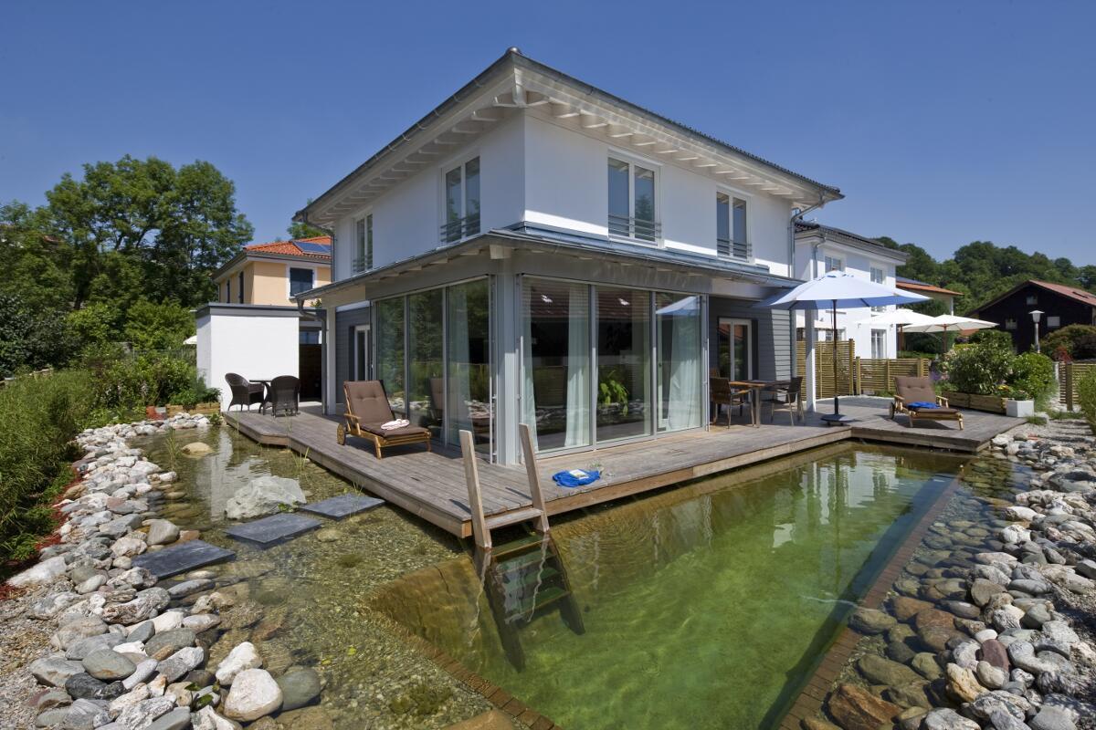 Einfamilienhaus bauen in Holzbauweise